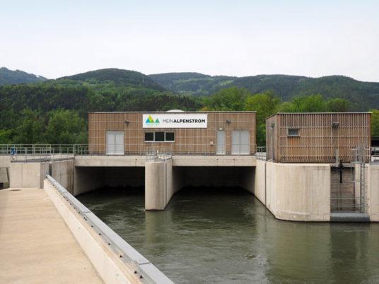 MeinAlpenStrom Kraftwerk Niklasdorf