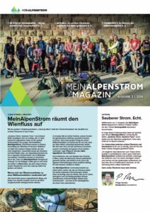 MeinAlpenStrom Magazin Ausgabe 2 2018 Cover