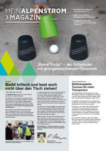 MeinAlpenStrom Magazin Ausgabe 4 | 2018