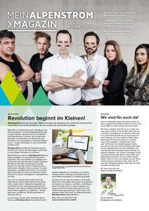 MeinAlpenStrom Magazin Q1 2020 Cover