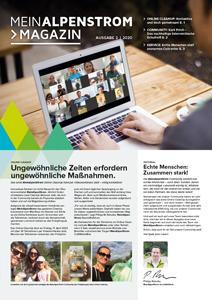 MeinAlpenStrom Magazin 2 2020 Cover