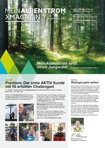 MeinAlpenStrom Magazin Q2 2021 Cover