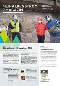 MeinAlpenStrom Magazin 4 2020 Cover