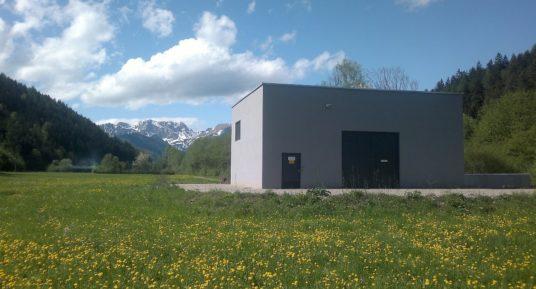 MeinAlpenStrom Partner Kraftwerk Vordernbergerbach Krafthaus
